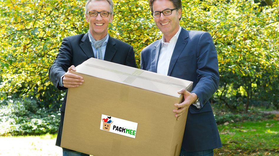 Texforcare-Geschäftsführer Schmitz und Solá: Sie wollen mehr Transparenz