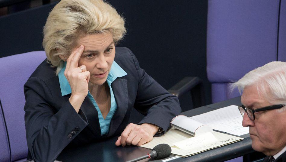 """Verteidigungsministerin von der Leyen: """"Eine der gefährlichsten Missionen"""""""