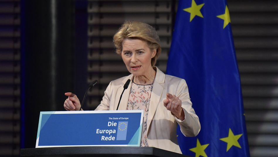Ursula von der Leyen wird am 1.Dezember neue EU-Kommissionspräsidentin