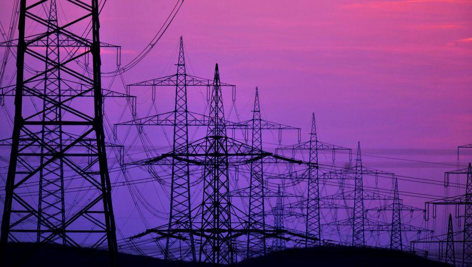 Strommasten bei Ludwigsburg: 1550 Unternehmen von EEG-Umlage weitgehend befreit