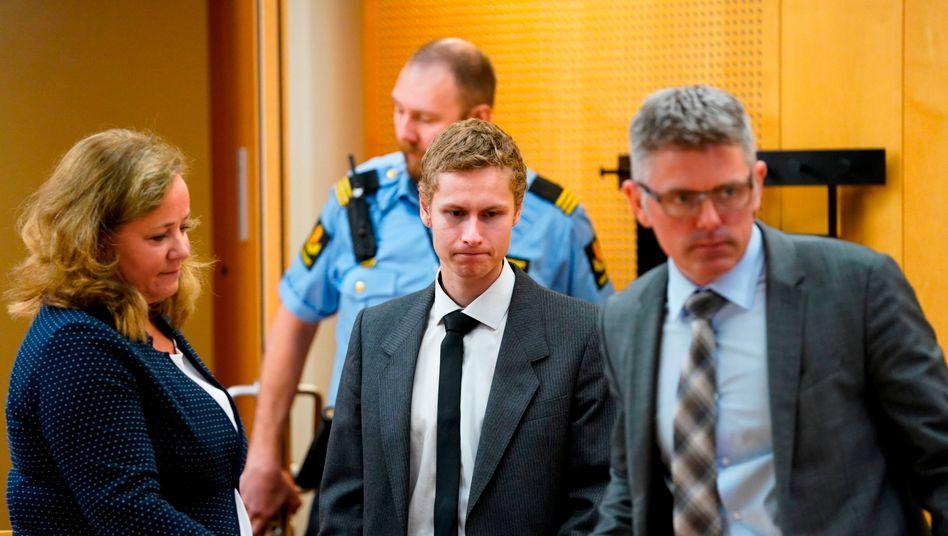 Angreifer von Oslo: Propagandaaktion vor dem Untersuchungsrichter