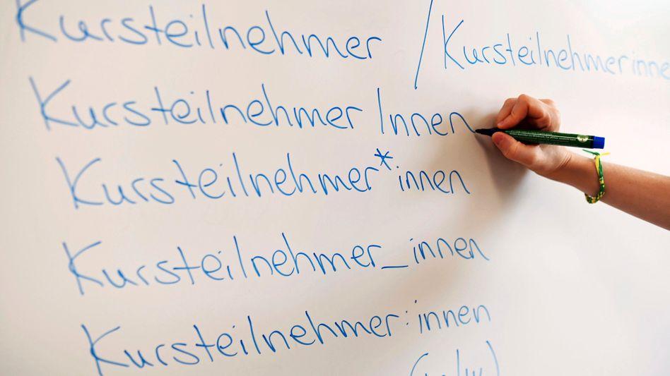 Erlernen der geschriebenen deutschen Sprache erschwert?