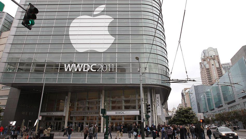 Apple-Konferenz in San Francisco: Wie arbeitet der Konzern mit US-Geheimdiensten?