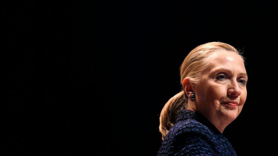 """Ex-Außenministerin Clinton (Archivbild): """"Welchen Unterschied macht das bitte?"""""""