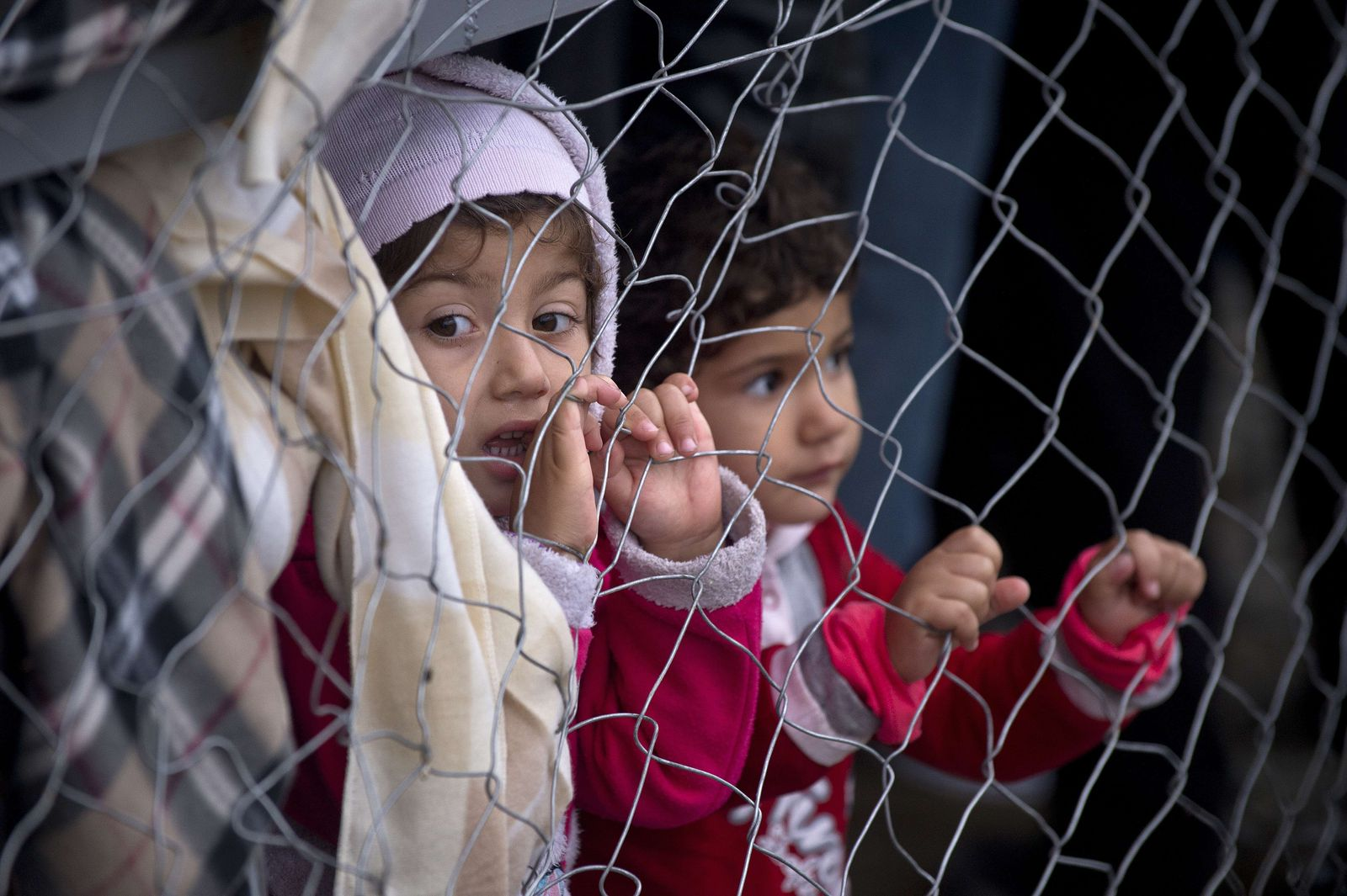 Flüchtlinge / Grenze Mazedonien Griechenland