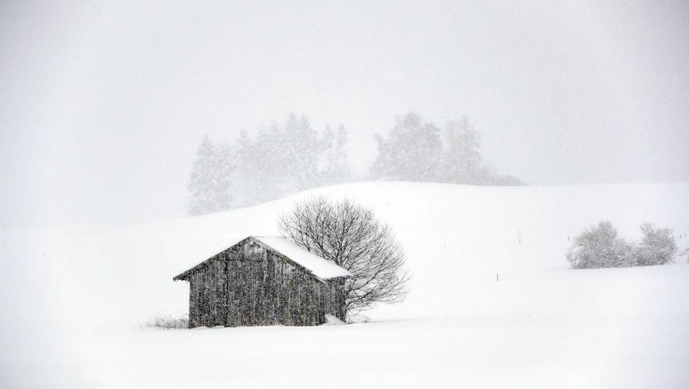 Deutschland und Österreich: Dauereinsatz für Schneeräumer