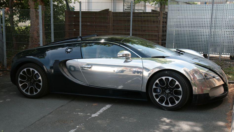 Gestohlener Bugatti: Beschlagnahmt nach wilder Verfolgungsjagd