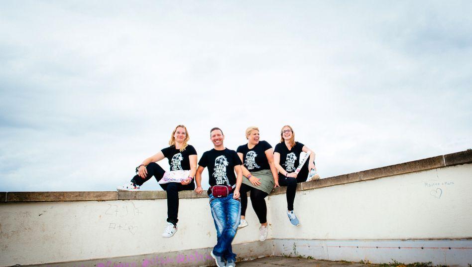 Kirstin, Basti, Nina, Gini (v.l.): Vier Leute, eine Leidenschaft
