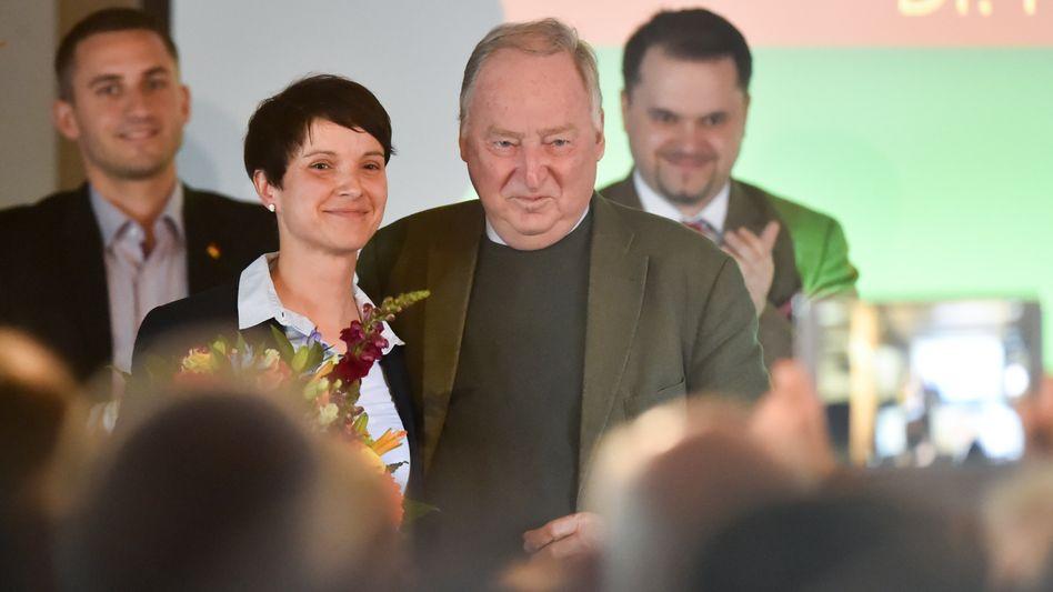 AfD-Vorsitzende Petry und Vize Gauland im Juli 2016