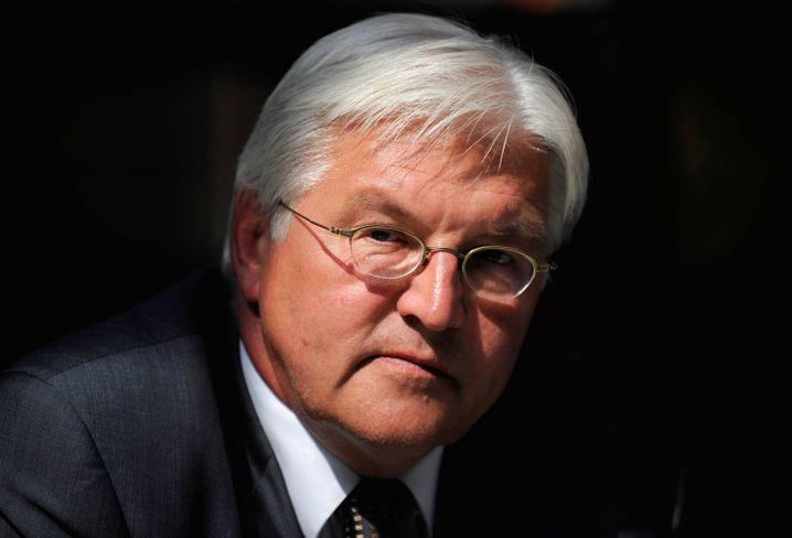 Außenminister Steinmeier: Rekordtief für die SPD