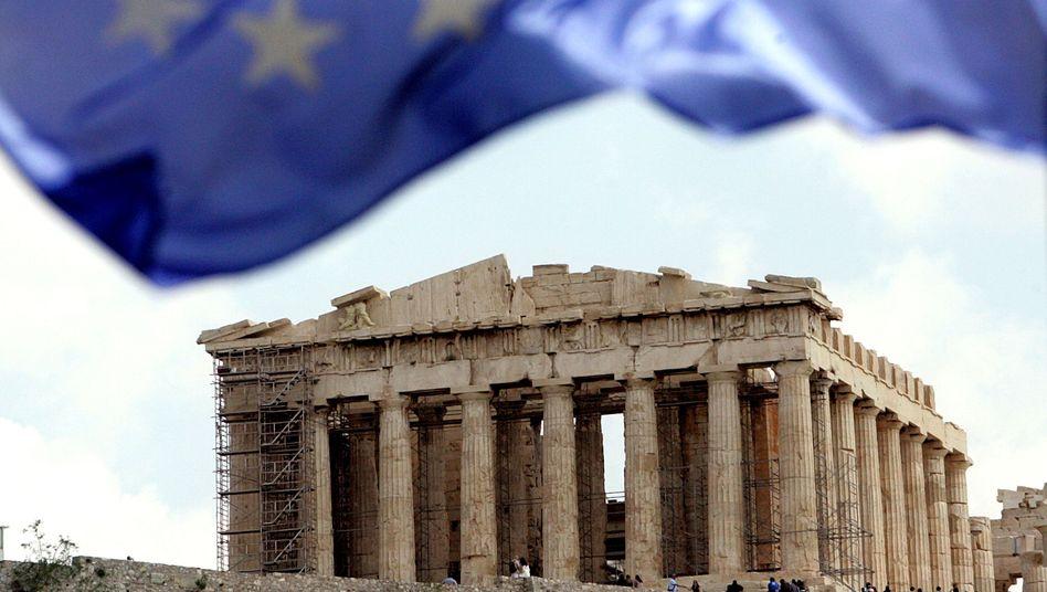 """Akropolis in Athen: """"Mehrere Möglichkeiten, Schuldenabbau zu betreiben."""""""