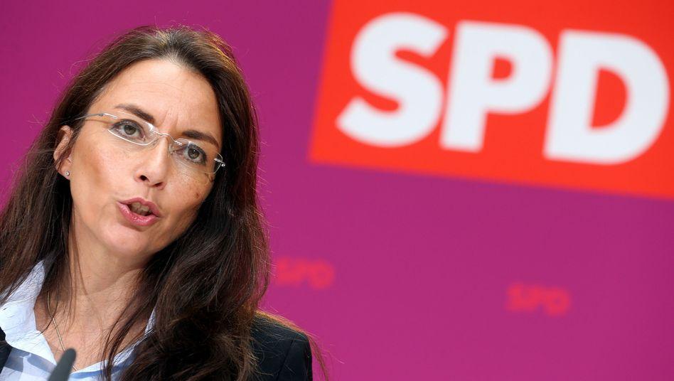 """SPD-Generalsekretärin Fahimi: Vorwürfe aus der CDU """"sind aberwitzig"""""""