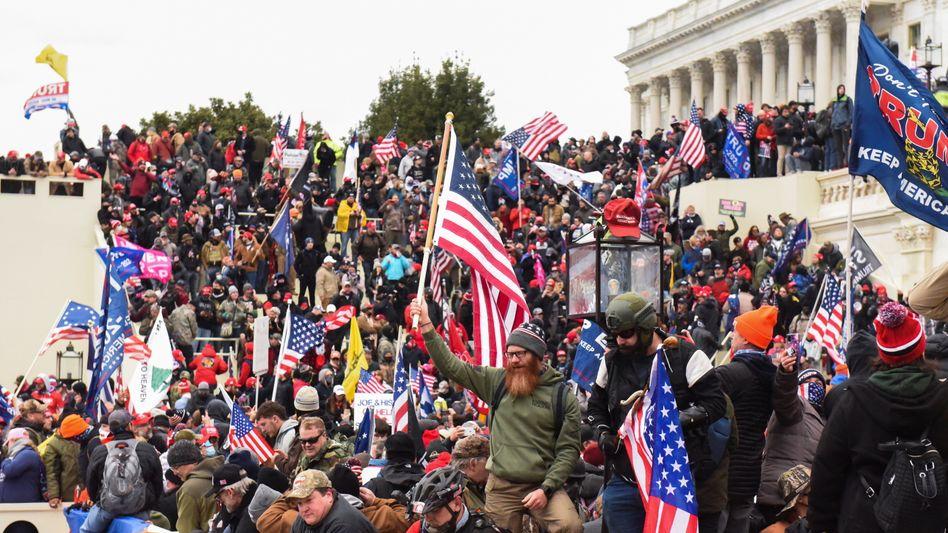 Wie ein Staatsstreich: Der Mob am Kapitol