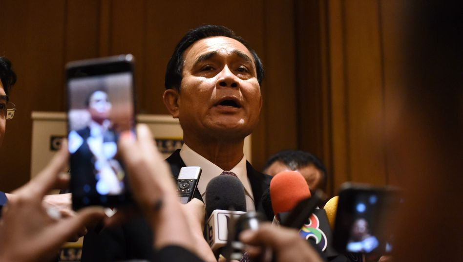 Prayut Chan-o-cha erlebt als thailändischer Premier eine extreme Dürre in seinem Land