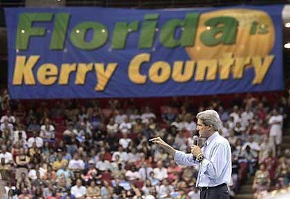 Kerry in Orlando: Eigentlich wäre es einfach zu gewinnen, eigentlich