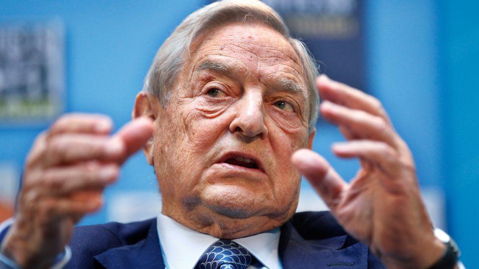 Starinvestor Soros: Bisher tue Deutschland immer nur das Minimum für die Euro-Zone