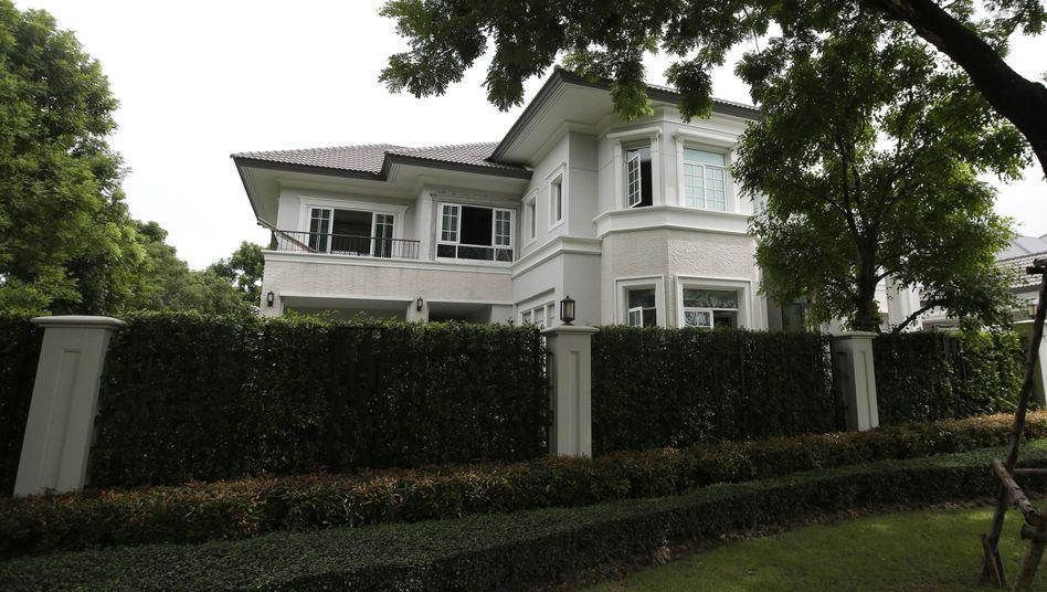 Das Haus des Beschuldigten in Bangkok