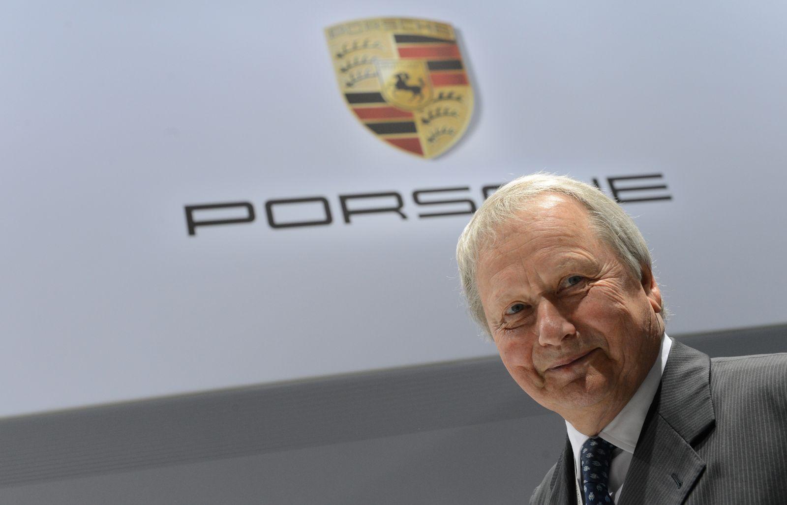 Wolfgang Porsche wird 70