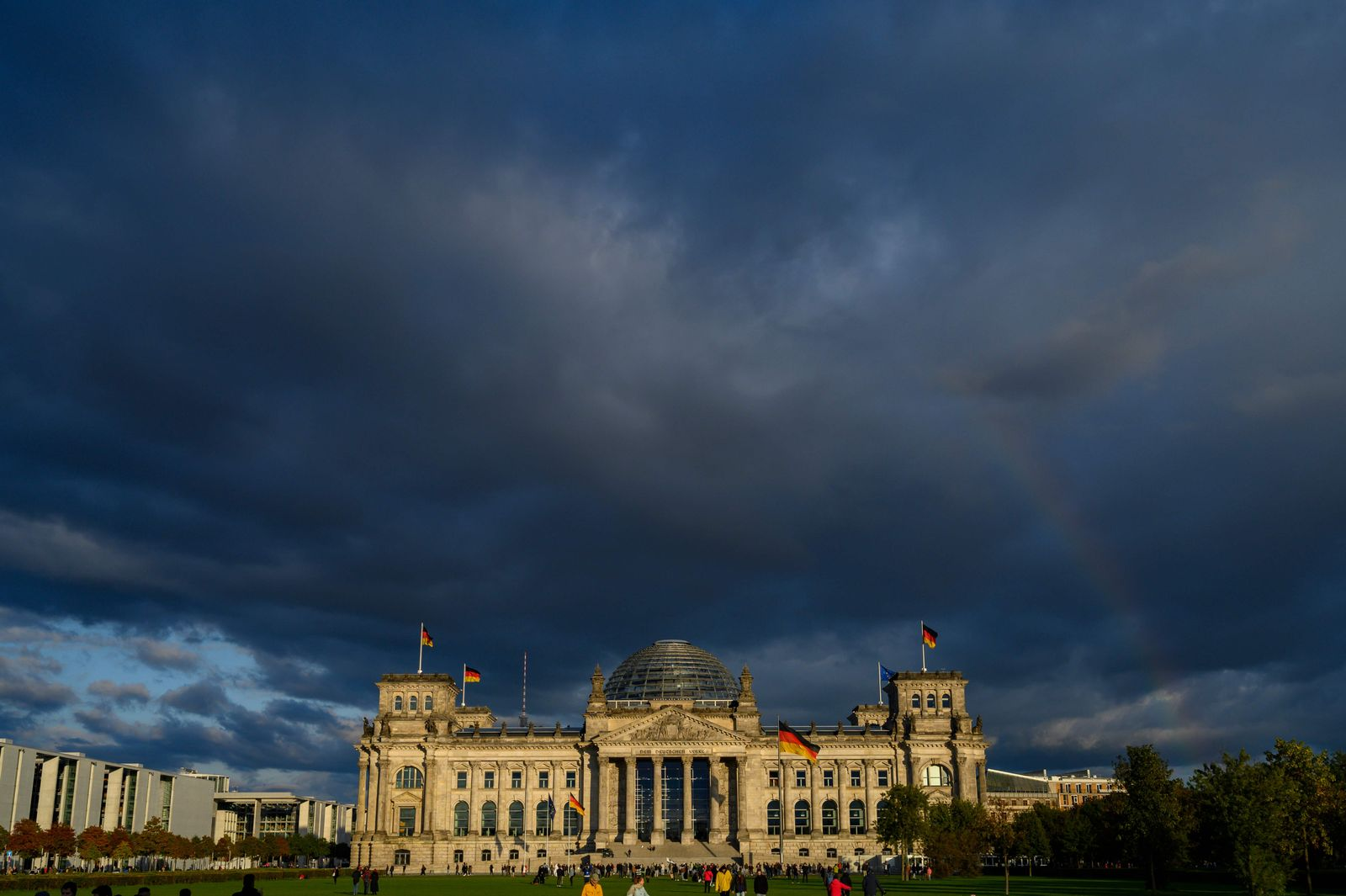 GERMANY-GOVERNMENT-CHANCELLERY
