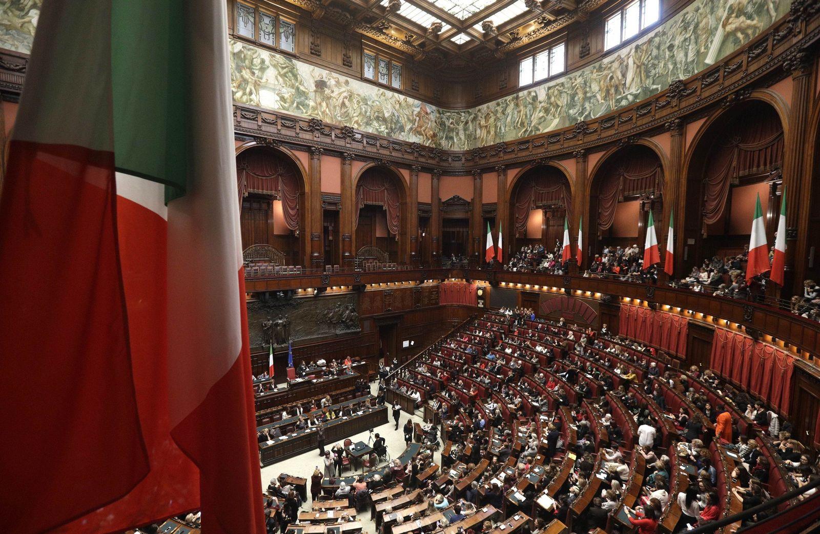 Italien/ Parlament