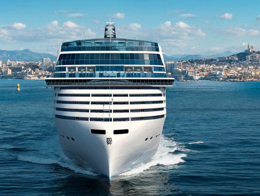 »MSC World Europa« von MSC Cruises: Riesenschiff mit LNG-Antrieb