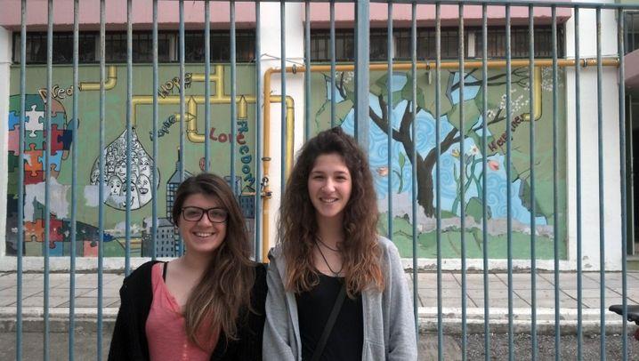 """Feuerprobe für griechische Schüler: """"Ich mache mir keine Illusionen"""""""