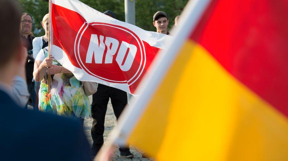 In Hannover darf die NPD nicht aufmarschieren (Archivbild)
