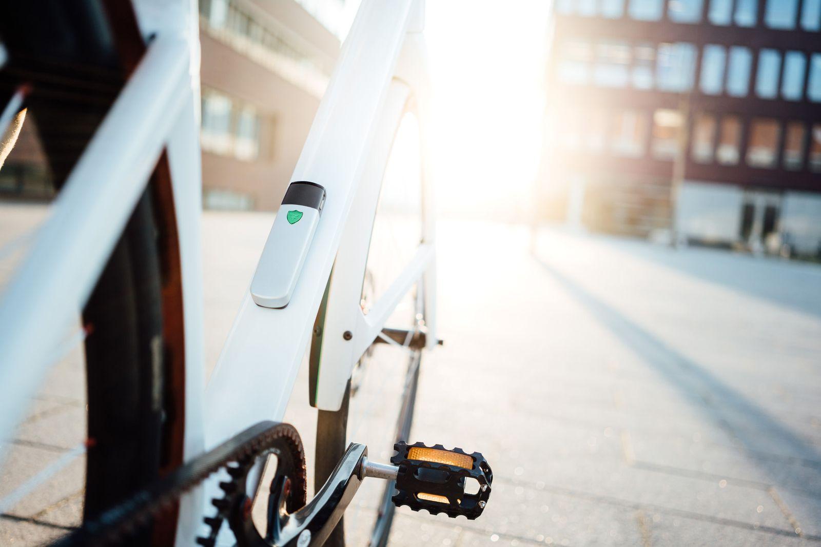 EINMALIGE VERWENDUNG Fahrradjäger / insect