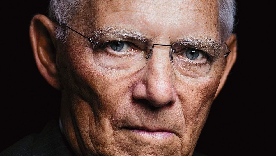 """Wolfgang Schäuble: """"That is the opportunity presented by disruption."""""""
