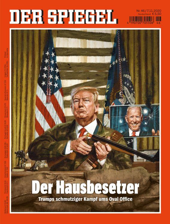 Donald Trump nach der US-Wahl: Der Hausbesetzer (Kopie) - DER SPIEGEL