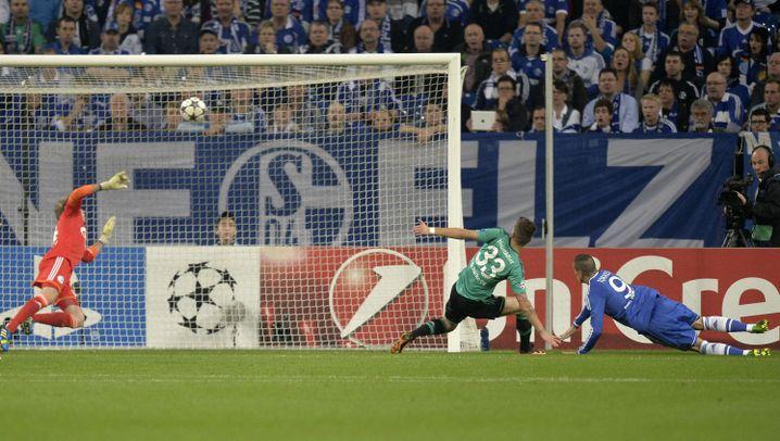 Schalke vs. Chelsea: Vier Chancen, drei Treffer