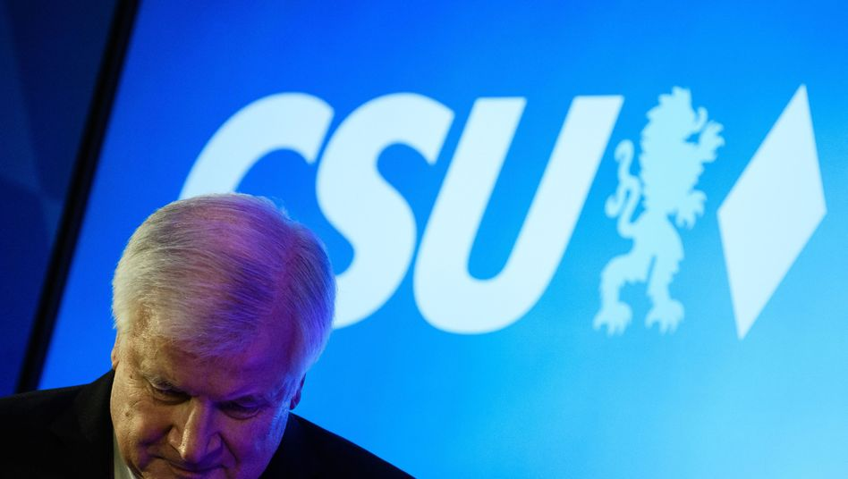 CSU party head and German Interior Minister Horst Seehofer