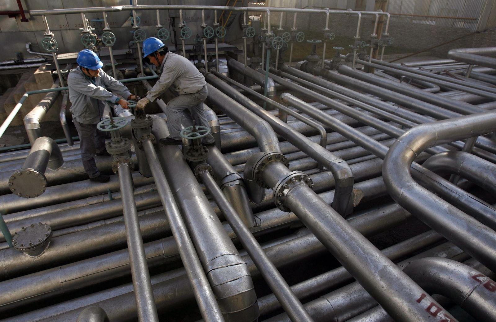 China / Öl-Pipelines