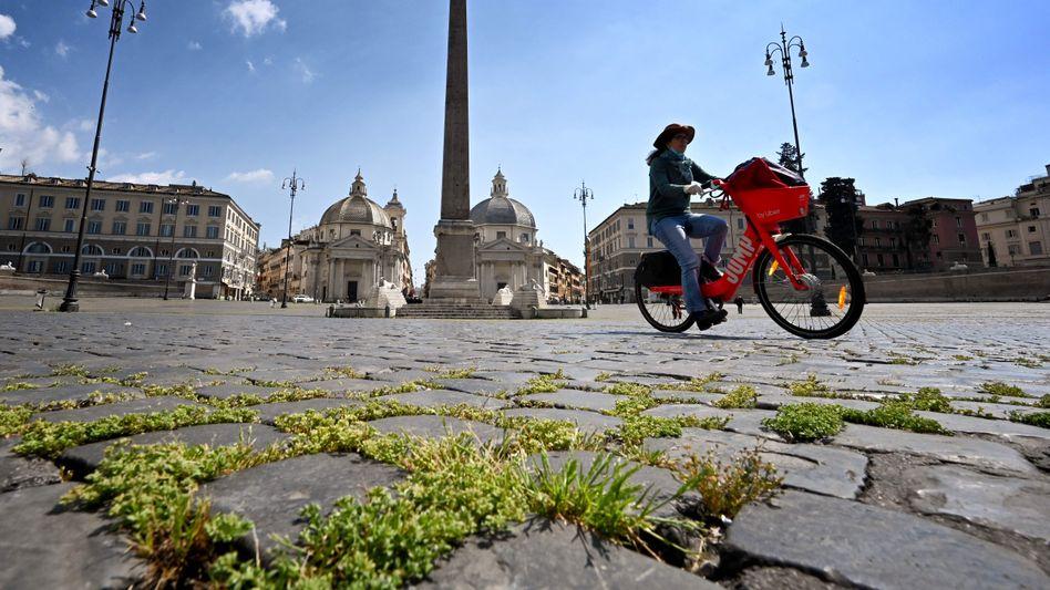 Piazza del Popolo in Rom: Die Regierung will das Haushaltsdefizit um mehr als zehn Prozent anheben