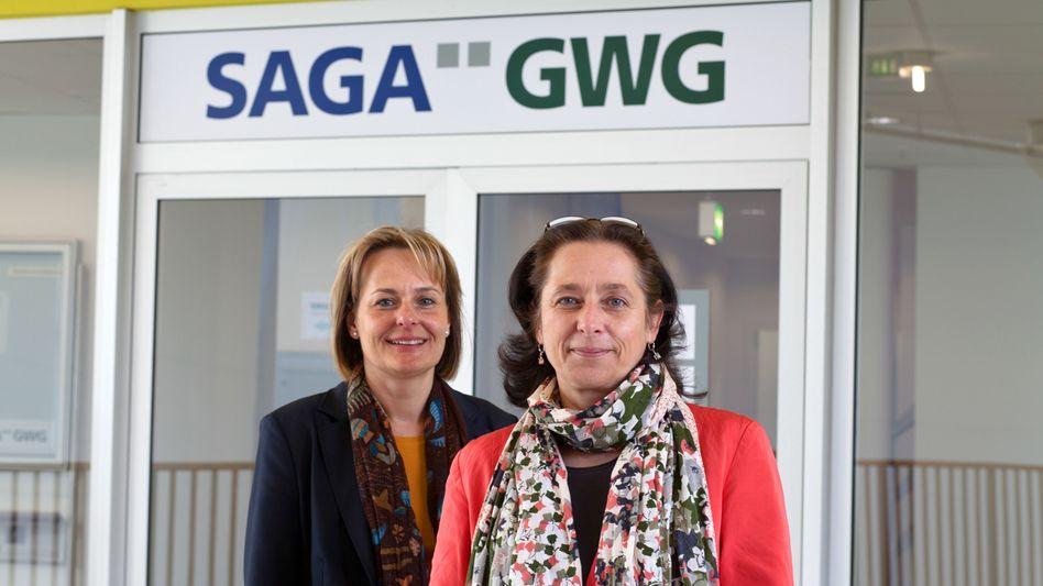 Zwei Chefinnen in einer Geschäftsstelle: Andrea Kelch und Astrid Meincke