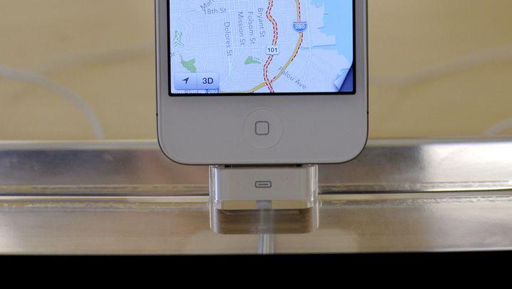 Apple Maps: Ortsmarken im nirgendwo, ganze Städte in der iCloud