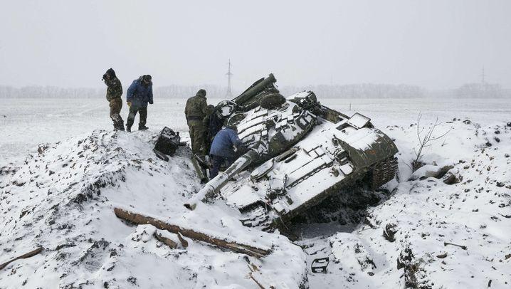 Konflikt im Donbass: Unruhe in der Ukraine