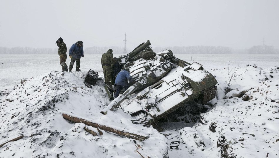 Krisentelefonat zu Ukraine-Gefechten: Putin lässt Merkel auflaufen