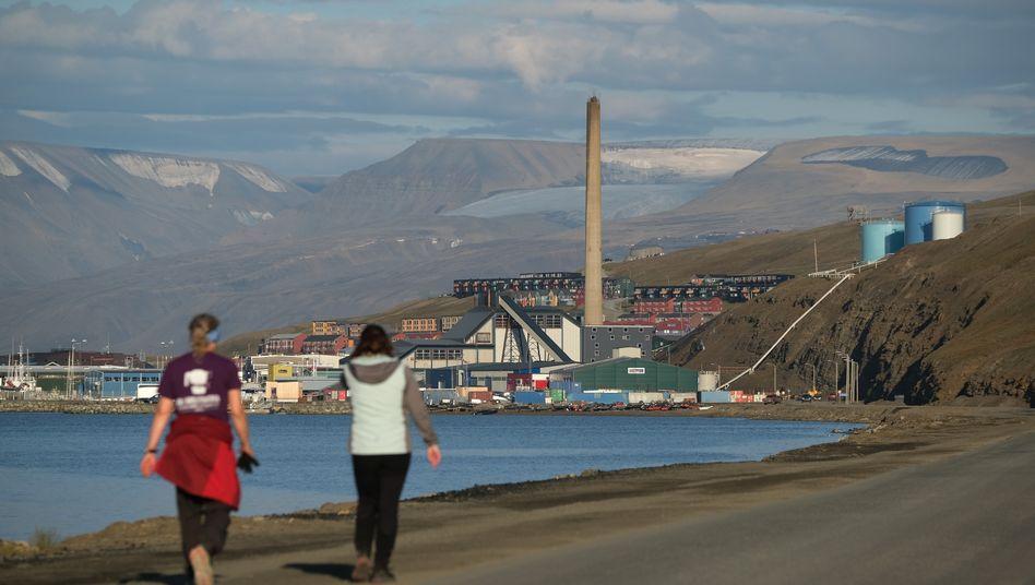 Kohlekraftwerk auf Spitzbergen: Hitzewelle im Sommer 2020
