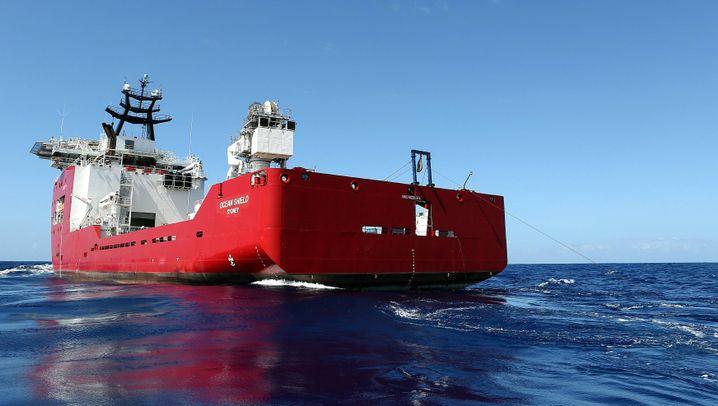 Blackbox von MH 370?: Australisches Suchschiff registriert Signal aus der Tiefe