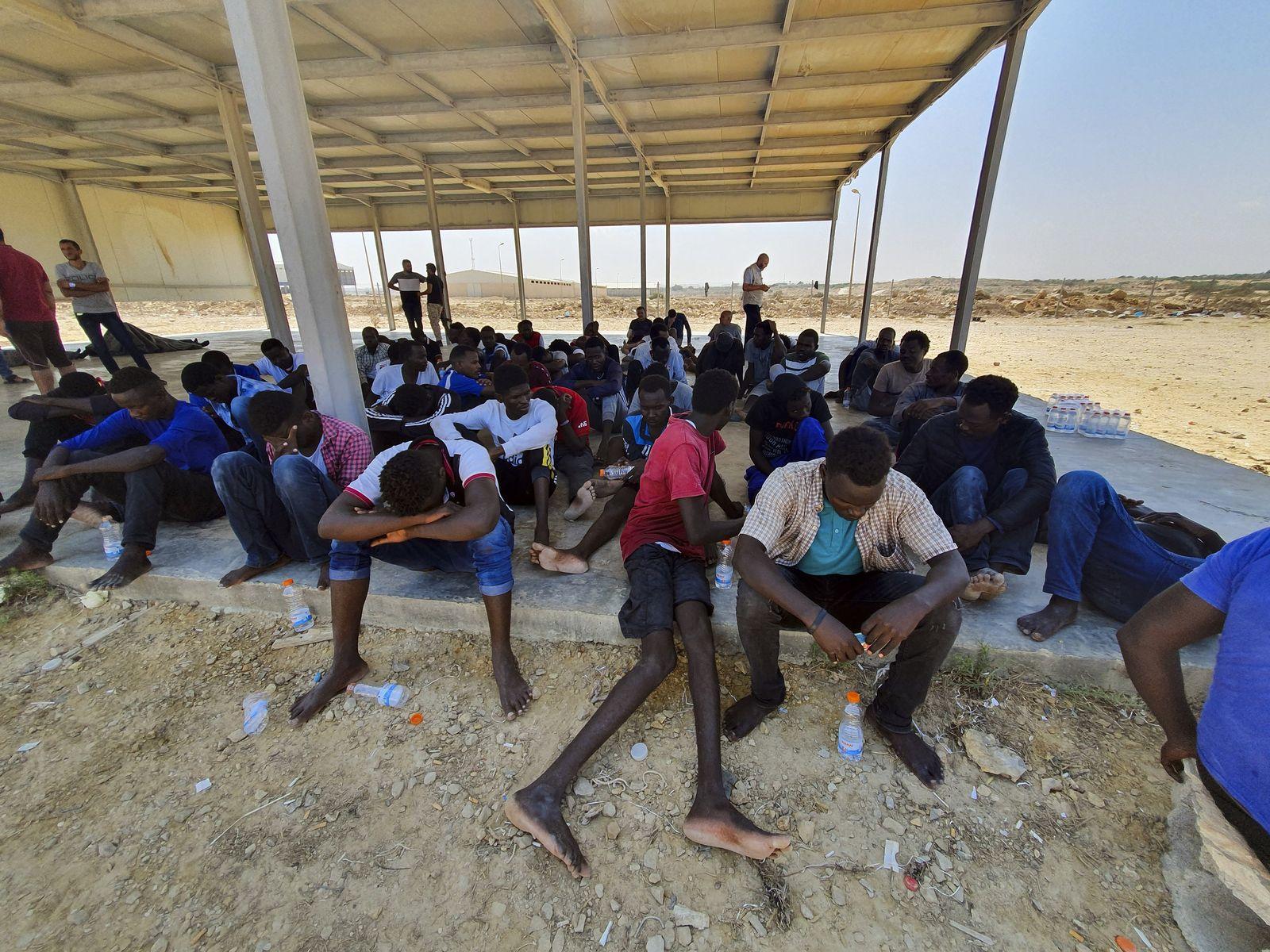 Bootsunglück vor libyscher Küste