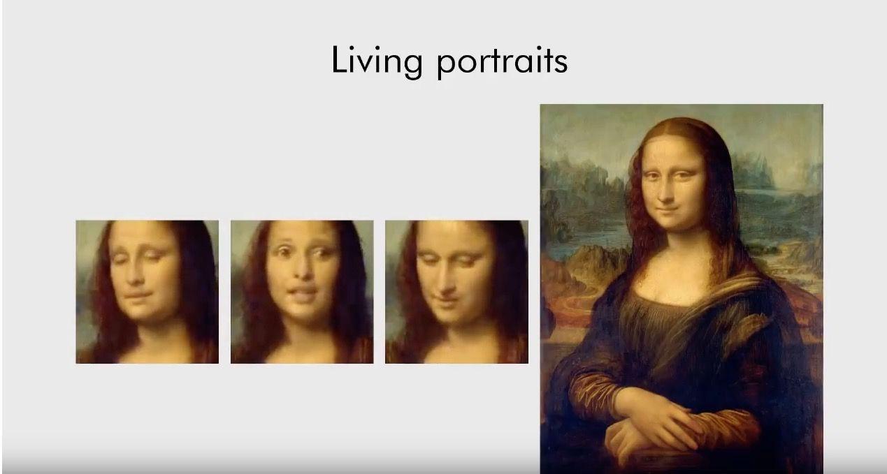 EINMALIGE VERWENDUNG KI lsst Mona Lisa sprechen