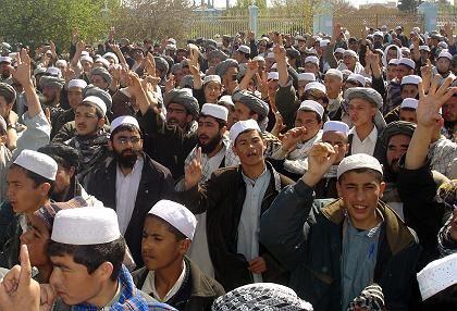Islamisten-Demo in Afghanistan: Christen haben keine Stimme