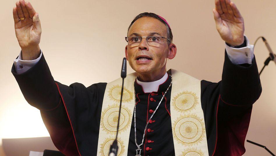 Bischof Franz-Peter Tebartz-van Elst: Belastung für die katholische Kirche