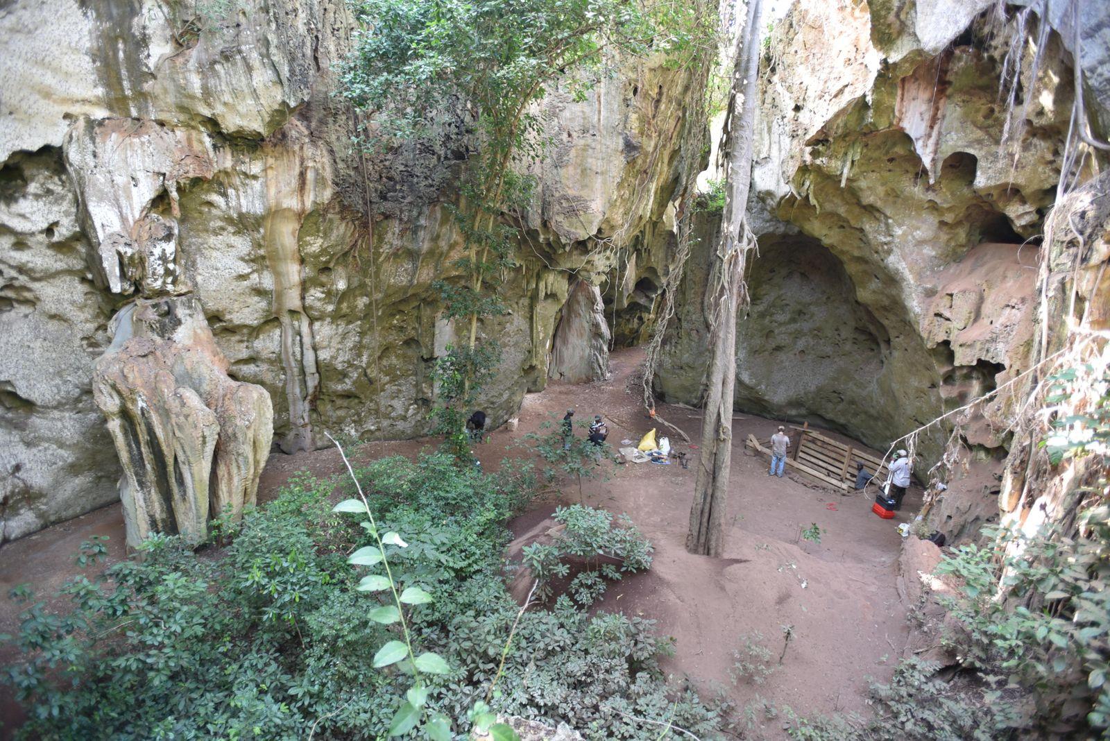 Fund-Höhle
