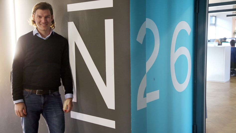 N26-Gründer Valentin Stalf (2018)