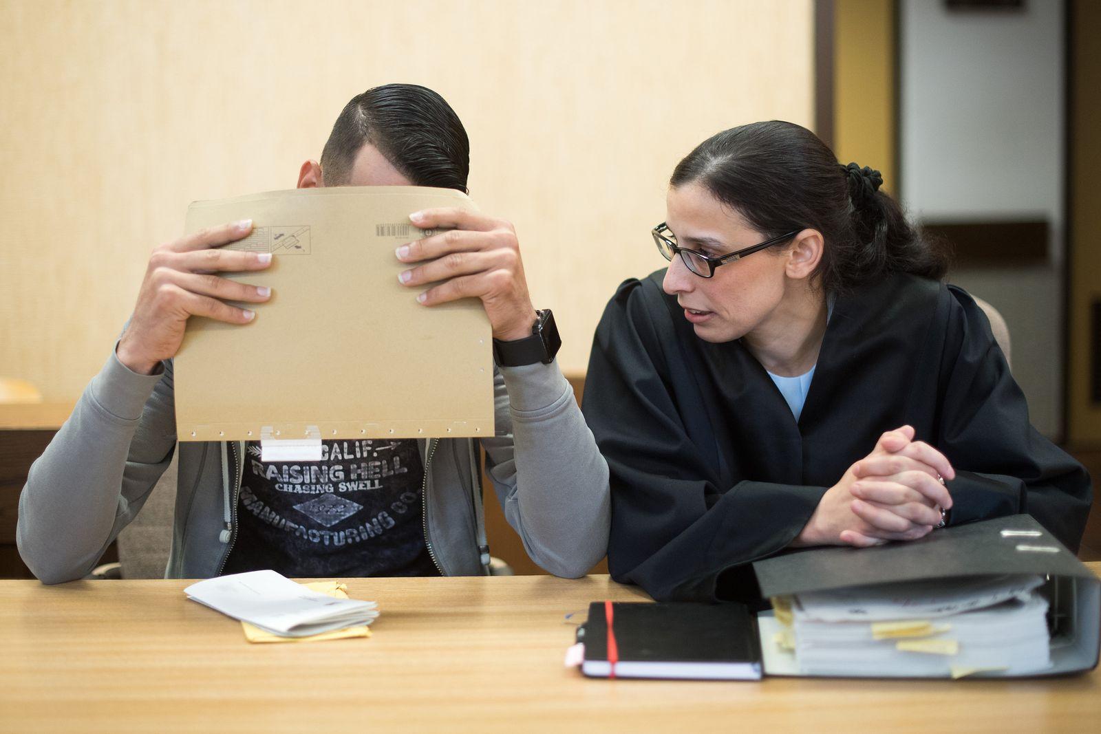 Prozess wegen sexueller Nötigung in der Kölner Silvesternacht