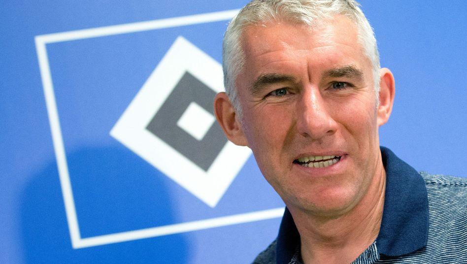 HSV-Trainer Slomka: Kein Rückhalt vom Investor