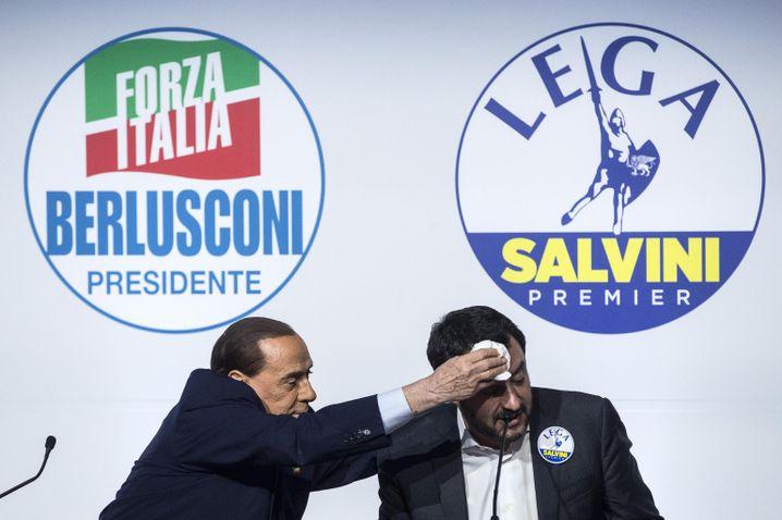 Berlusconi und Salvini