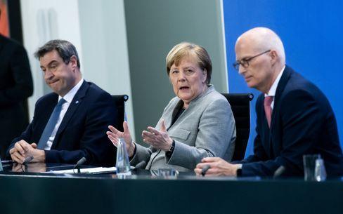 Angela Merkel (am 15. April): Die Brüskierung der Regierungschefin herunterspielen
